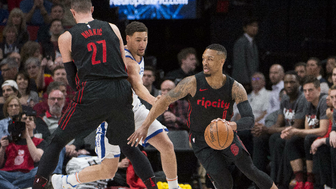 Damian Lillard thinks Blazers could've beat Warriors with healthy Nurkic [report]