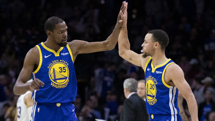 Stephen Curry, Kevin Durant named to All-NBA Team