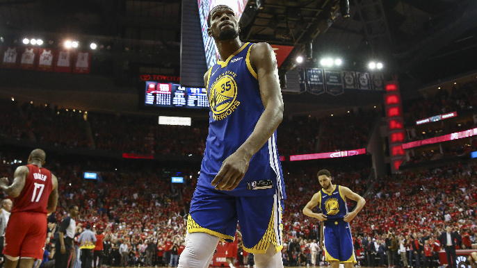 Warriors say Durant 'unlikely' to be ready for start of Finals, provide update on Cousins