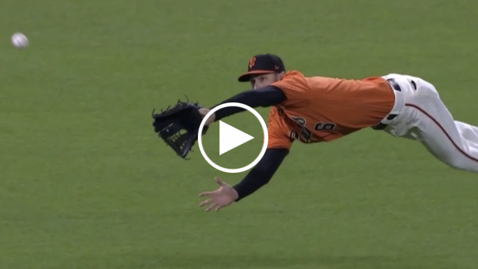 Steven Duggar makes astounding diving catch on line drive
