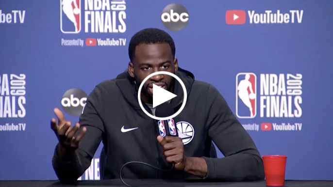 Draymond Green says he doesn't have any problem with Drake on the sideline