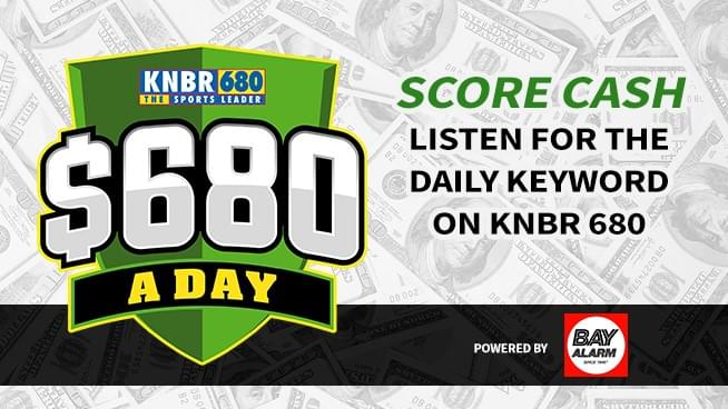 Listen for your chance to win $680 A Day