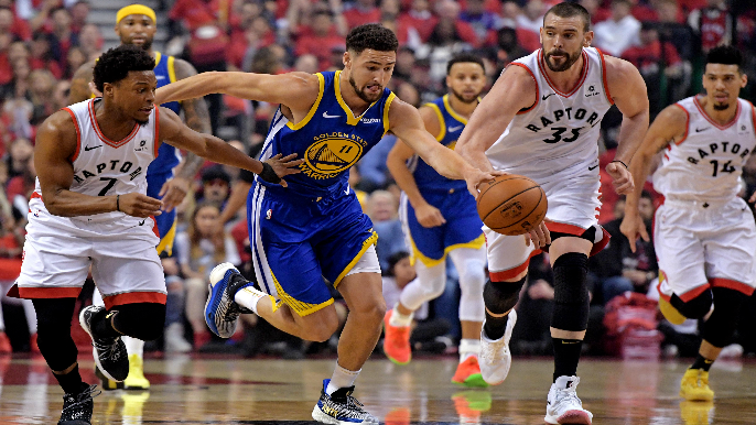 Mychal Thompson on Klay's status for Game 3: 'He's going to play'