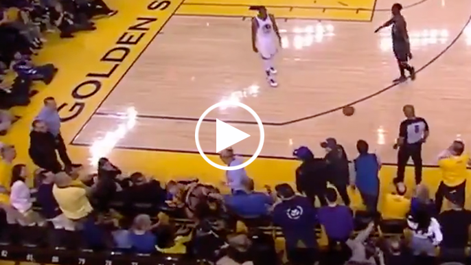 Fan who pushed Kyle Lowry is Warriors part owner