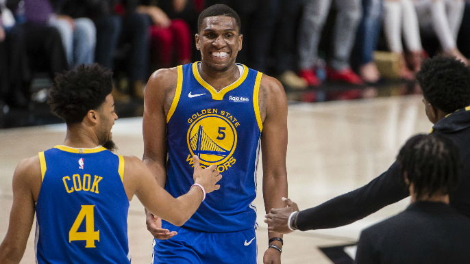 Kevon Looney will play in Game 4 of NBA Finals