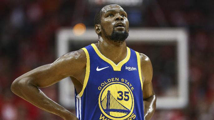 Kevin Durant's pre-Game 4 workout 'didn't go well on any level' [report]