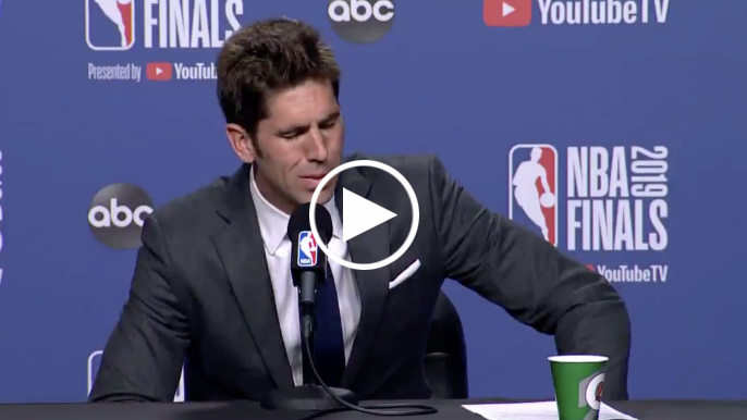 Bob Myers gets emotional while announcing Kevin Durant has Achilles injury