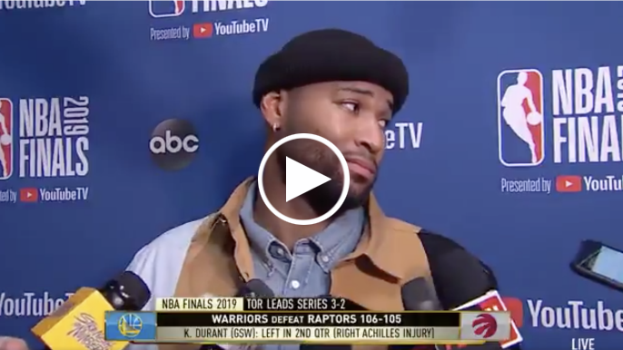 Cousins on people questioning Durant's heart: 'F**k them'
