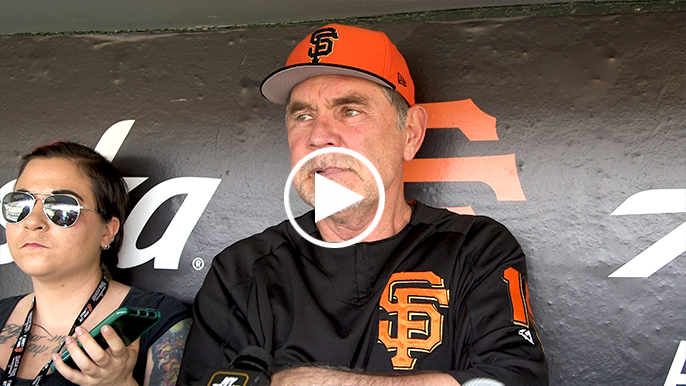 Bochy campaigns for one Giants All-Star: 'Somebody's going to have to go'