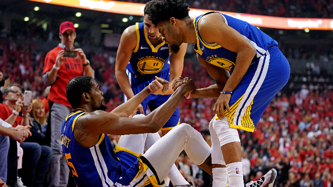 Fitz on criticizing Warriors for KD injury: 'Stop talking about crap you have no idea about""