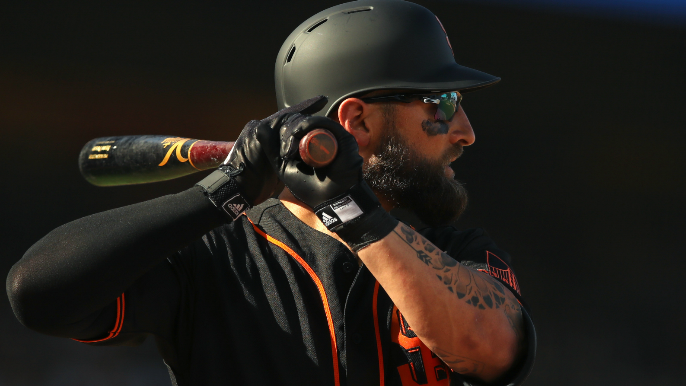 How Kevin Pillar is swallowing a Giants role that's getting worse