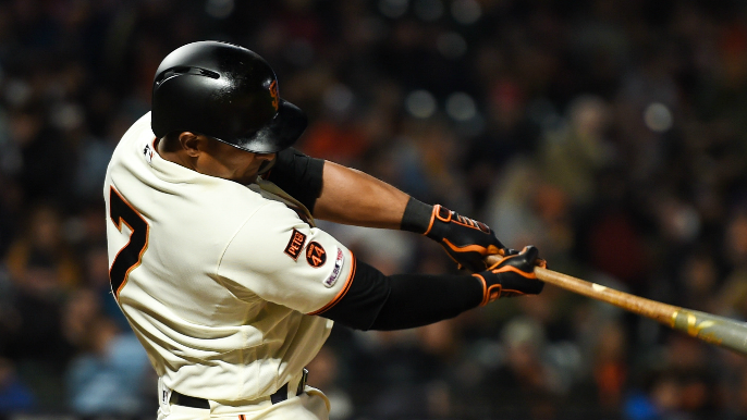 Giants' forgotten infielder comes up big when given a chance