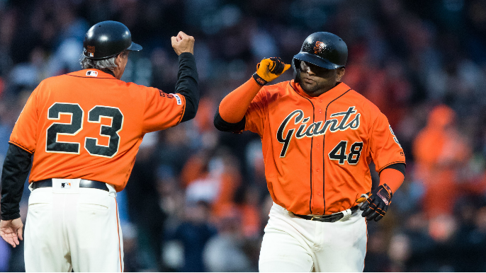 Pomeranz and a home-run barrage give Giants third-straight win