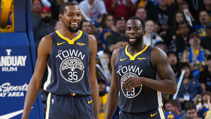 Draymond Green refutes his reported visit to Kevin Durant in New York