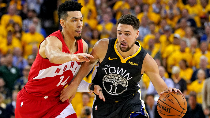 Danny Green explains what Klay Thompson told him after knee injury