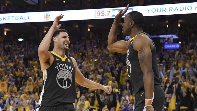 Klay Thompson's best Warriors memory involves making fun of Andre Iguodala