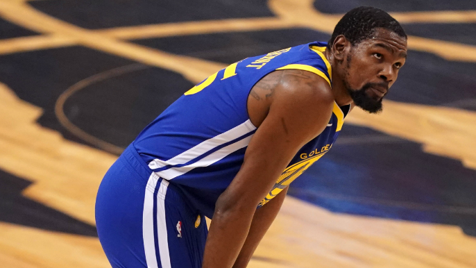 Kevin Durant 'pissed off' at Warriors' handling of his injury [report]