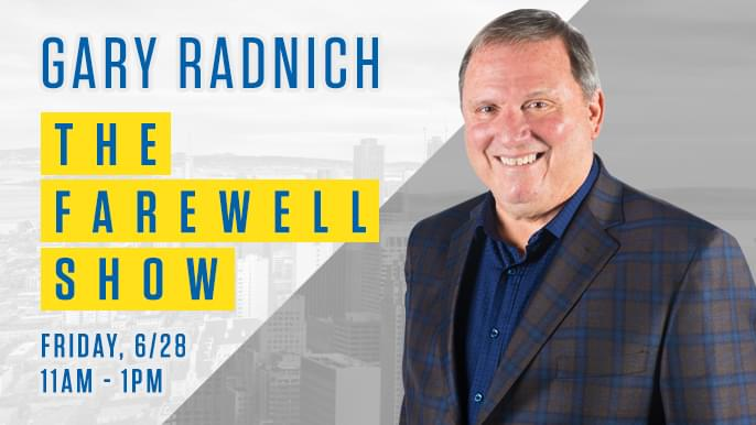 Gary Radnich to have final KNBR show on Friday, June 28
