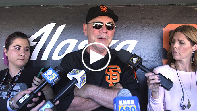Bruce Bochy: Why Buster Posey's lineup spot is not changing
