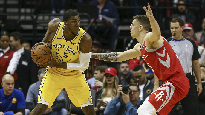 Rockets possibly targeting Kevon Looney with mid-level exception [report]