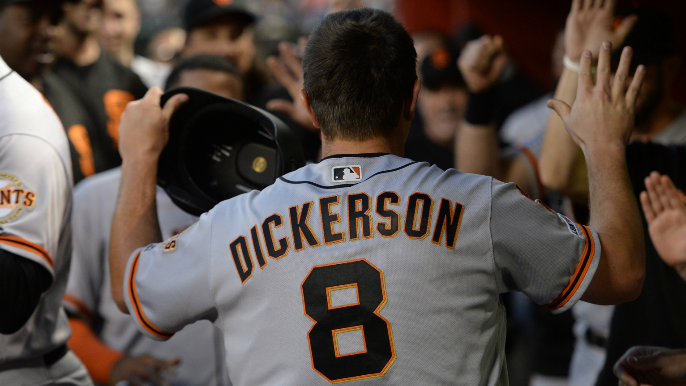 Alex Dickerson details his path to the big leagues in first interview with KNBR