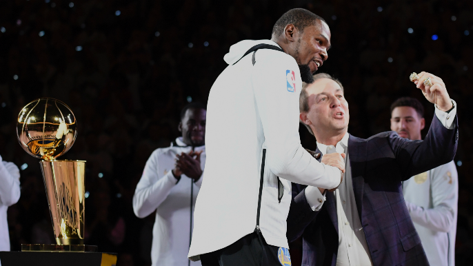 Joe Lacob releases statement on Kevin Durant