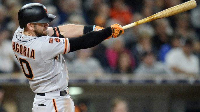 low priced 607f9 e8396 Longoria's 2 homers, 5 RBIs help Giants to 10-4 win vs Pads ...