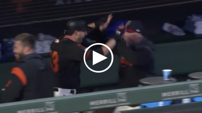 Austin Slater hits pinch-hit grand slam in wild Giants game