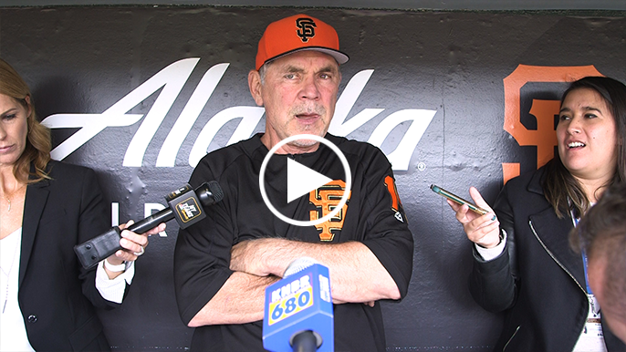 Zaidi, Bochy insist they still believe in Giants' core: 'That's not who they are'