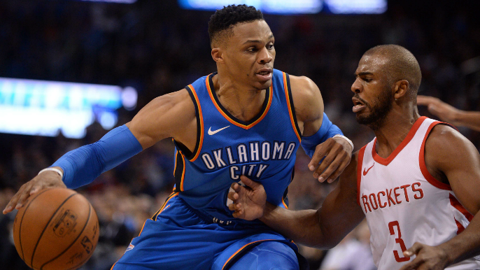 Russell Westbrook and Chris Paul swap teams in blockbuster deal between Rockets, Thunder [report]