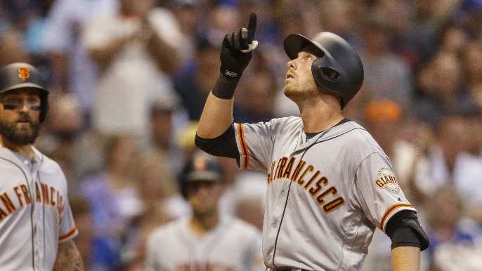 Why Giants are benching a hot bat for another big game