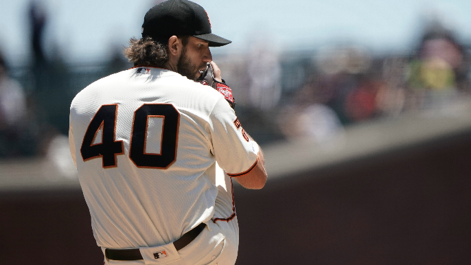 Baggarly discusses situation with Bumgarner, Smith as trade deadline approaches