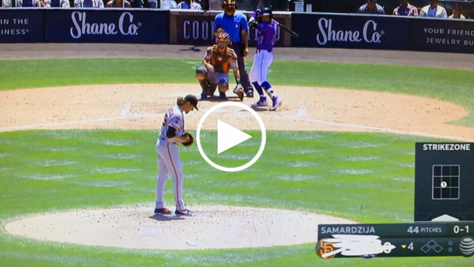 Rockies announcers scribble out scoreboard while getting blown out by Giants