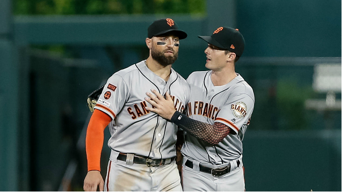 How Giants' outfield finally has jelled into a unit