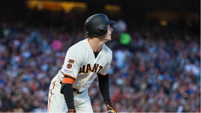 Giants roar back to shock Cubs and finally get over .500
