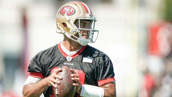 finest selection 30fb5 61b0c The key to the 2019 49ers' success is simple: Keep Jimmy ...