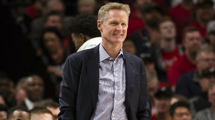 Steve Kerr clarifies criticism of Anthony Davis trade on 680
