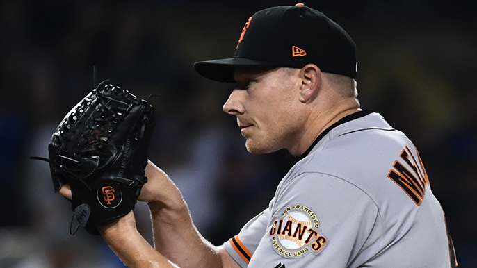 Giants trade Mark Melancon to Braves, acquire reliever, prospect [report]