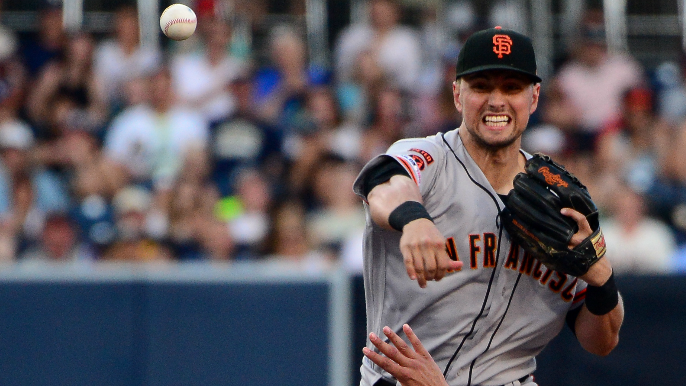 Bochy discusses Joe Panik's new role following trade for Gennett