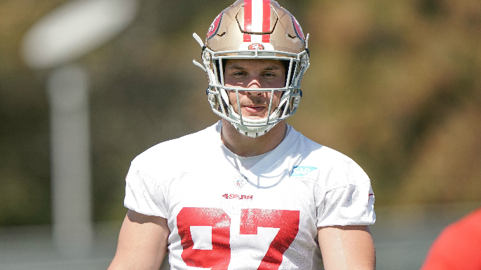 another chance 514e0 7e63a 49ers avoid serious injury scares with Nick Bosa, Jason ...
