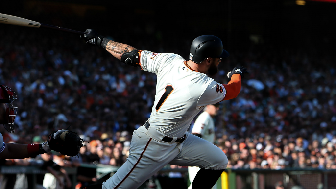 Will Smith's arm and bat save a bonkers Giants victory