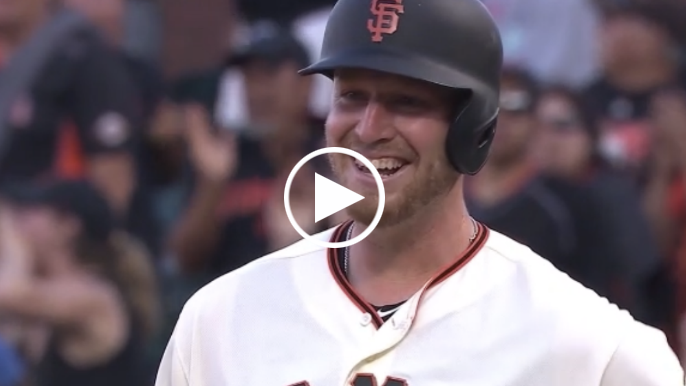 Will Smith — yes, him — hits goofy two-RBI single to give Giants cushion