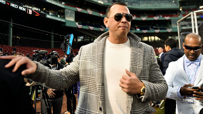 Alex Rodriguez has half-million dollars worth of goods stolen from car in San Francisco [report]