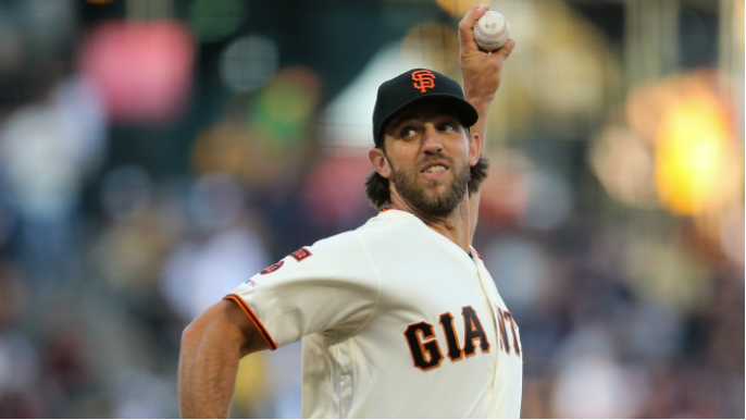 Madison Bumgarner is untouchable as Giants survive ninth-inning scare