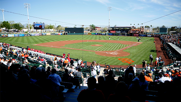Giants announce 2020 Spring Training schedule