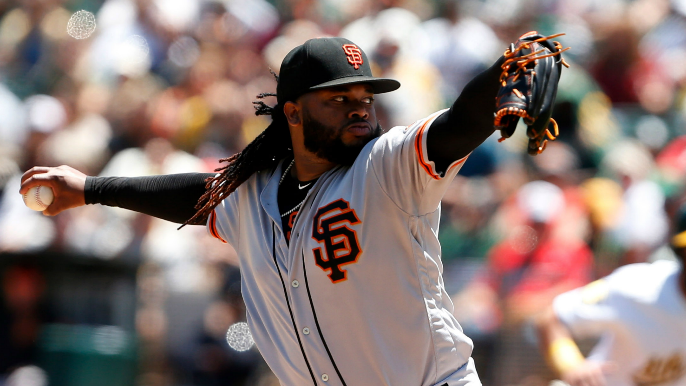 Giants now have a rough estimate for Johnny Cueto's return