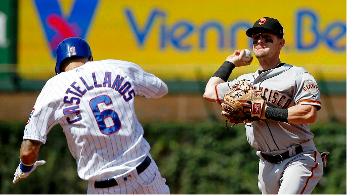 Giants' playoff hopes look finished after dismal sweep to Cubs