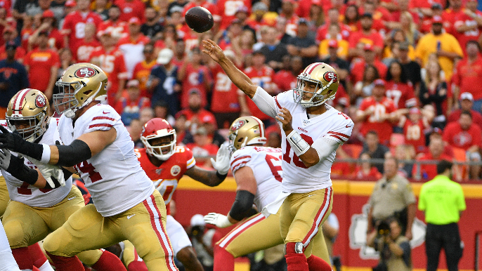 Garoppolo, starters play a successful full half, ease preseason nerves in win over Chiefs