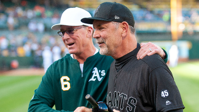 Bruce Bochy reflects on game 4,000: 'It means I'm old'