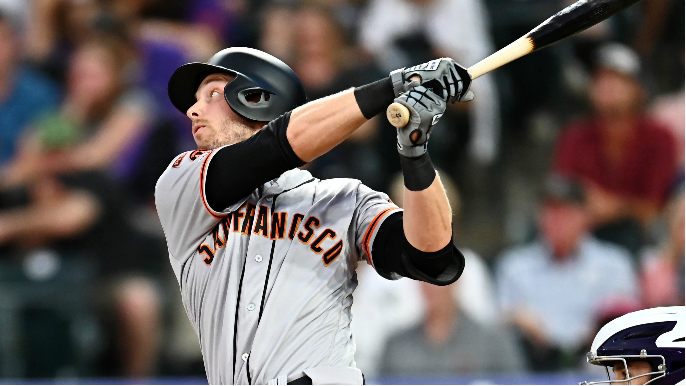 How Austin Slater is staying sharp as Giants consider infield option